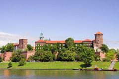 Wawel Royal Castle in Poland Royalty Free Stock Images