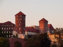 Wawel Royal Castle Royalty Free Stock Photos