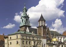 Wawel-Schloss Stockfoto