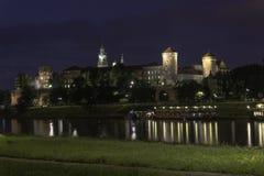 Wawel-Schloss Stockbild