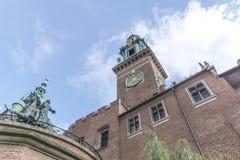 Wawel-Schloss Lizenzfreie Stockbilder