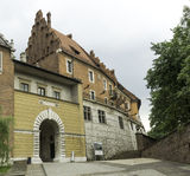 Wawel-Schloss, Eingang Stockfoto