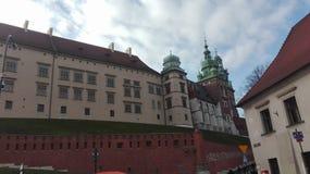 Wawel-Schloss Krakau Lizenzfreies Stockfoto