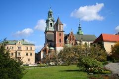Wawel Schloss. Krakau. Polen. Lizenzfreies Stockfoto