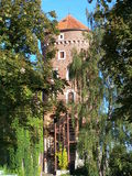 Wawel slotttorn, Krakow Royaltyfri Bild