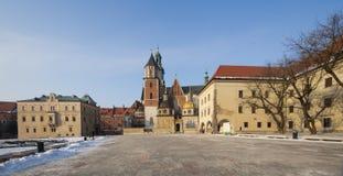 wawel stanislaw st krakow Польши холма собора стоковые изображения rf