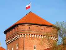 Wawel tower Stock Photography