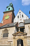 Wawel towers, Poland Stock Photo