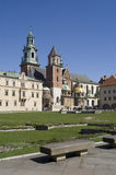 Wawel und Bank Lizenzfreie Stockfotografie