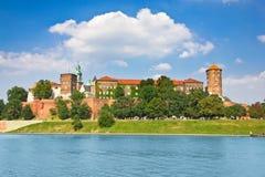 Wawelkasteel, Krakau, Polen royalty-vrije stock afbeeldingen