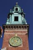 Wawelklokketoren Stock Afbeeldingen