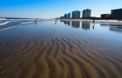 Wawes песка Стоковые Фотографии RF