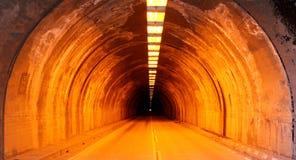 Wawona Tunnel, Yosemite. Wawona Tunnel in Yosemite Valley, late afternoon in winter Stock Photos