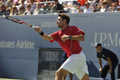 Wawrinka in SF of US 2013 (1) Stock Image
