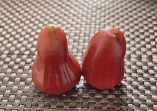 Wax apple fruit Stock Photo