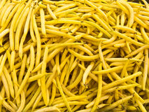 Wax beans Royalty Free Stock Photos
