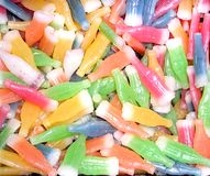 Wax Candies Royalty Free Stock Image