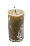 Wax candle Stock Photography