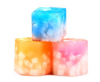 Wax candles Stock Photos