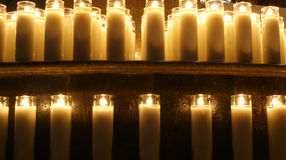 Wax candles Stock Photography