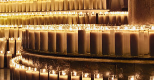 Wax candles Royalty Free Stock Photography