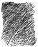 Wax Crayon Texture. Black Wax Crayon rubbing texture against a white background Royalty Free Stock Photography