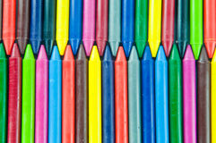 Wax crayons. Stock Image