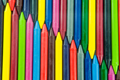 Wax crayons. Stock Photo