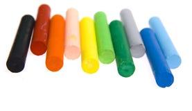 Wax crayons Stock Image