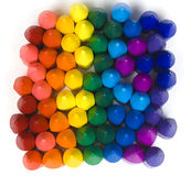 Wax crayons Stock Images