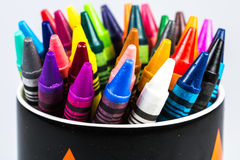 Wax crayons Royalty Free Stock Images