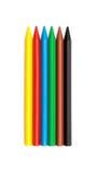 Wax crayons Royalty Free Stock Photos