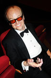 Wax figure of actor Jack Nicholson Royalty Free Stock Photo