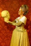 Wax figure of famous marie tussauds at madame tussauds in hong kong royalty free stock images