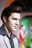 The wax figure of elvis presley Royalty Free Stock Photos