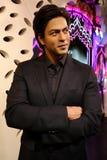 Shahrukh khan indian actor wax figure at madame tussauds in hong kong stock photo