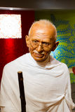Wax figure of the famous Mahatma Ghandi Stock Photography