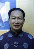 Wax figure of famous peking opera master mei lanfang Royalty Free Stock Photography