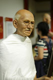 Wax figure of gandhi Royalty Free Stock Photo
