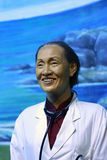 Wax figure of lin qiaozhi(linqiaozhi) Stock Photography