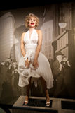 Wax figure of Marilyn Monroe, american actress and model in Madame Tussauds Wax museum in Amsterdam, Netherlands Stock Photo