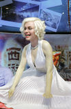 Wax figure of marilyn monroe Royalty Free Stock Photos