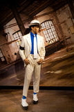 Wax figure of Michael Jackson in Madame Tussauds Wax museum in Amsterdam, Netherlands Stock Image