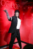 Wax figure of michael jackson Stock Photos