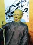 Wax figure of the most famous chinese painter chi pai-shih Stock Photo
