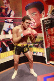 Wax figure of muhammed ali Stock Photo