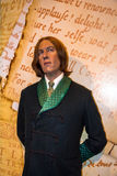 Wax figure of  Oscar Wilde (1864-1900) at Madame Tussaud museum. London Royalty Free Stock Image