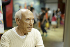 The wax figure of picasso Royalty Free Stock Photo