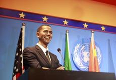 Wax figure of president barak obama Royalty Free Stock Photos