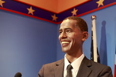 Wax figure of president barak obama Royalty Free Stock Photos